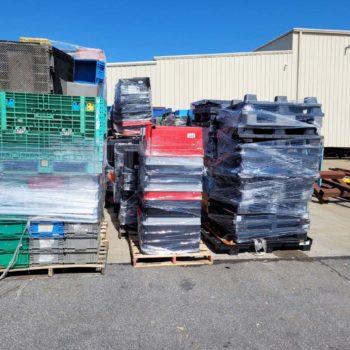 plastic pallets, plastic pallet recycling, scrap plastic buyers near me