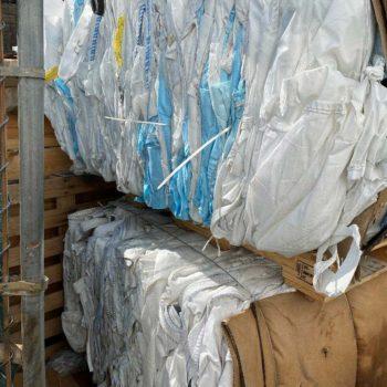 bulk bag recycling, peanut bags, fibc recycling,